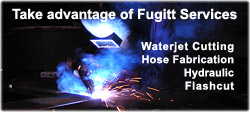 Welding, waterjet cutting, hydraulic service, gaskets